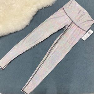 "teeki Pants & Jumpsuits - NWT Teeki ""White Snake Opal"" Hot Pant /Leggings S"